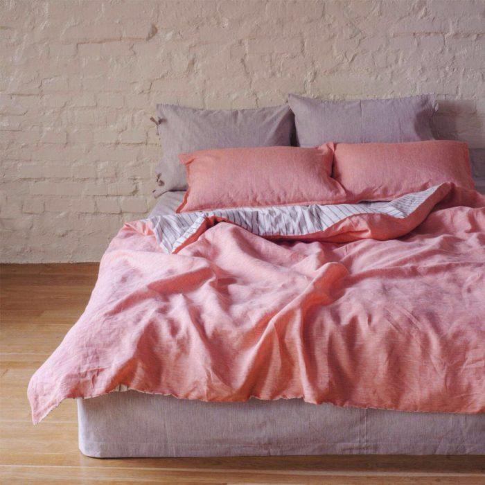 Льняное постельное белье 70