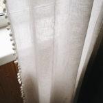 Льняная вуаль белая 2
