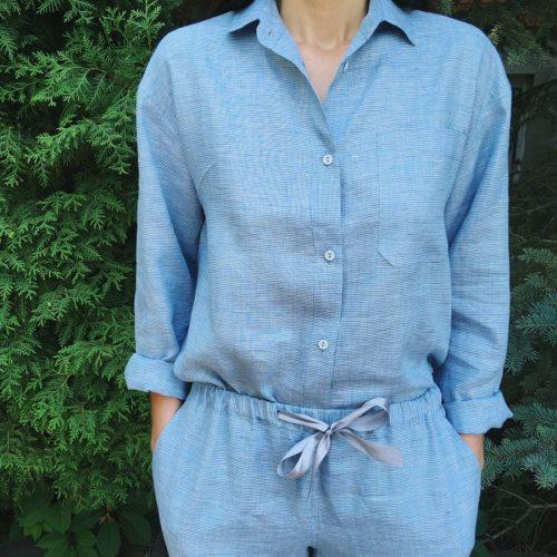 Пижамы льняные 1
