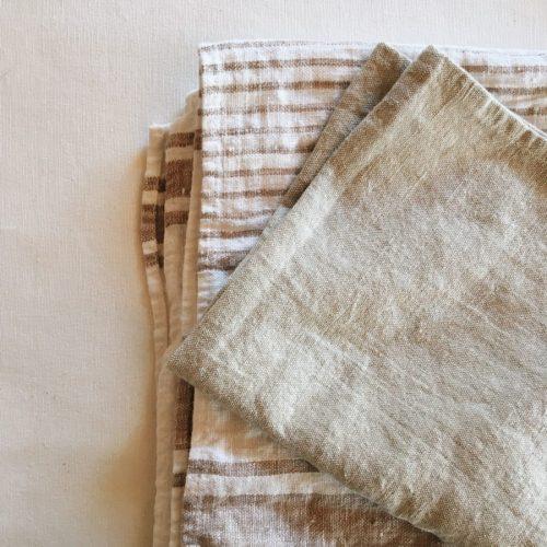 Полотенца льняные умягченные 1