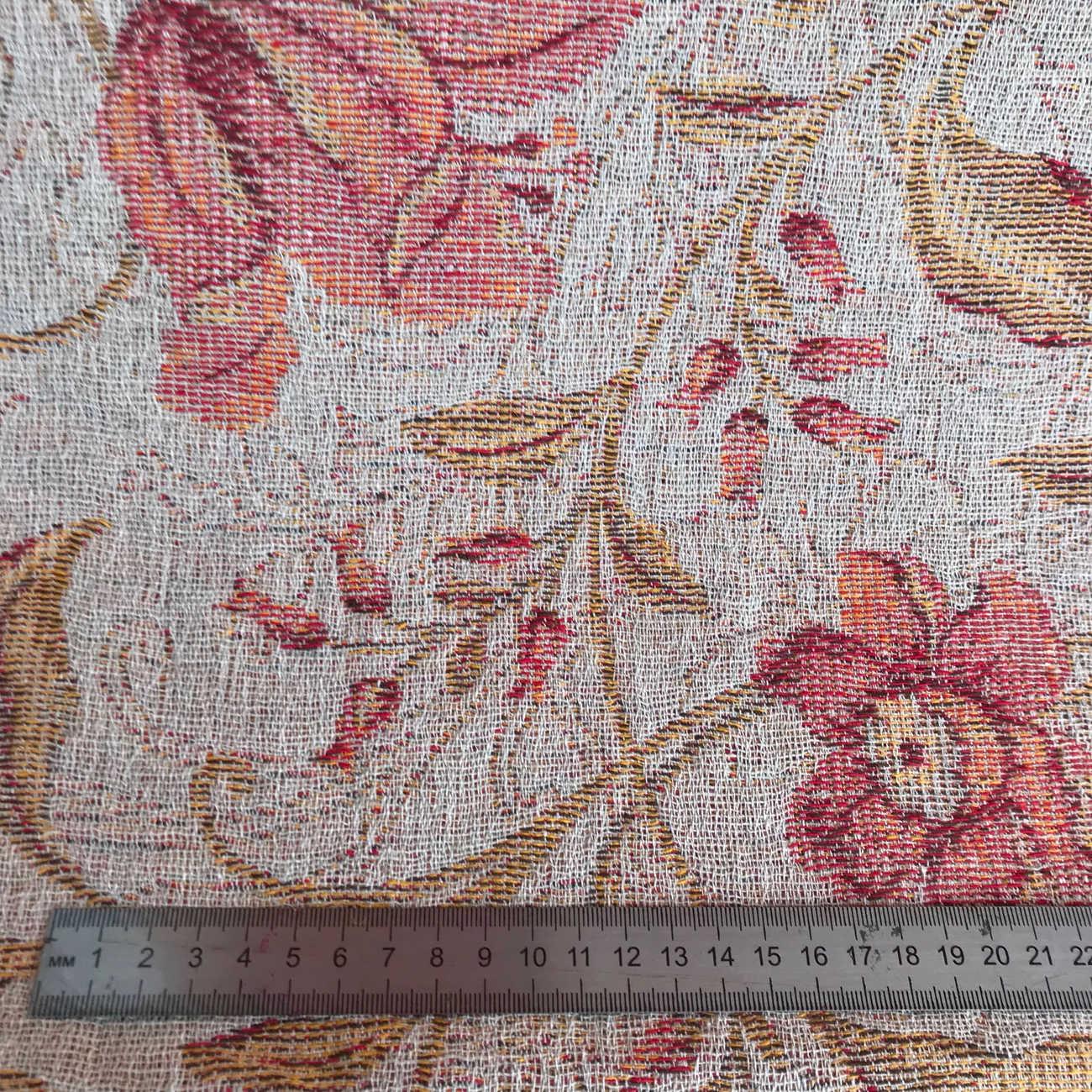 100% Льняная ткань Энигма - декоративная 2