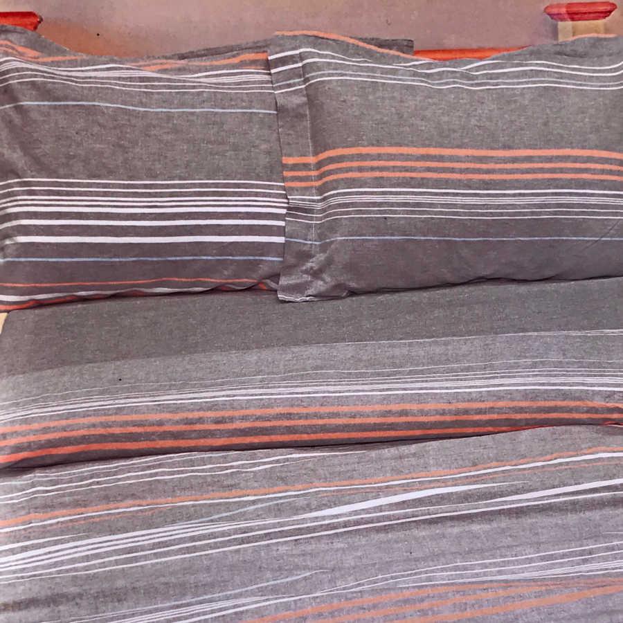Льняной смягченный постельный комплект Уют - Орша
