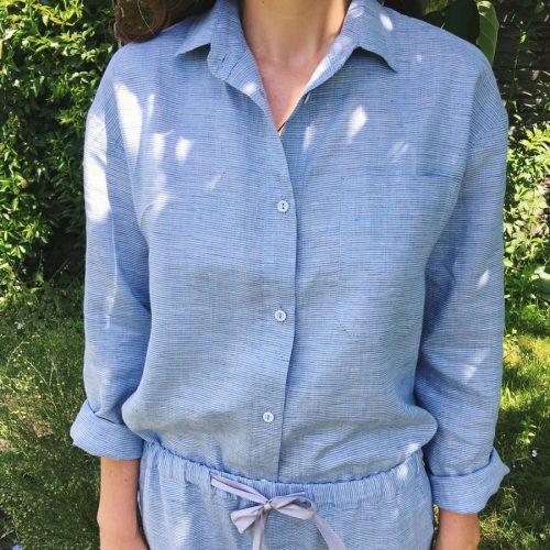 Пижамы из льна на заказ