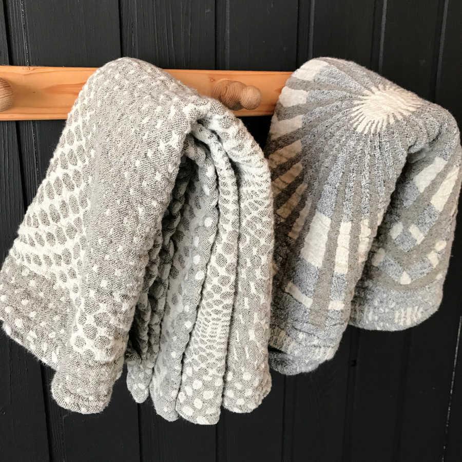 Банные полотенца из льна умягченные - Иллюзия 2 шт