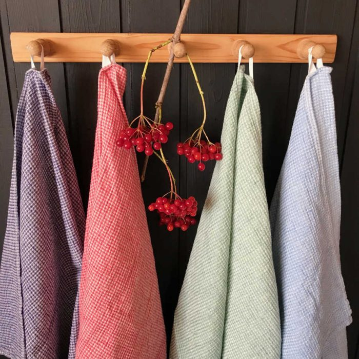 Кухонные полотенца из умягченного льна 1