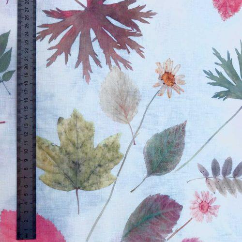 Льняная ткань Осень 1