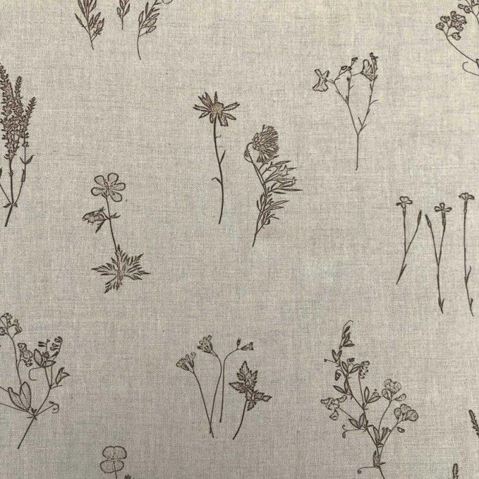 Льняная умягченная ткань Прованс 2-2