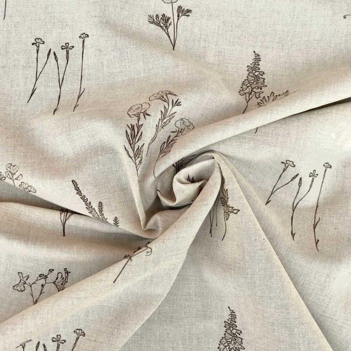 Льняные ткани - Льняная умягченная ткань Прованс 2