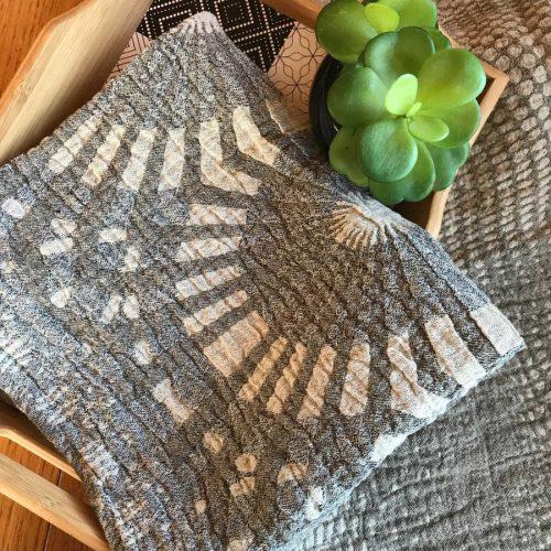 Полотенце льняное умягченное Мерцание 3