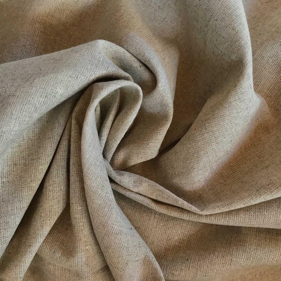 Ткань льняная декоративная Натурель 1