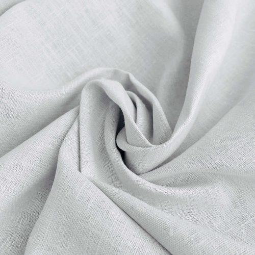 Льняные ткани - Льняная ткань для скатерти Белая