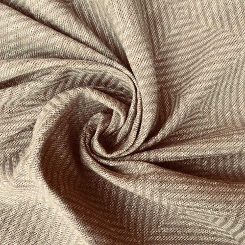 Льняные ткани - 100% Льняная декоративная ткань Бежевая 1
