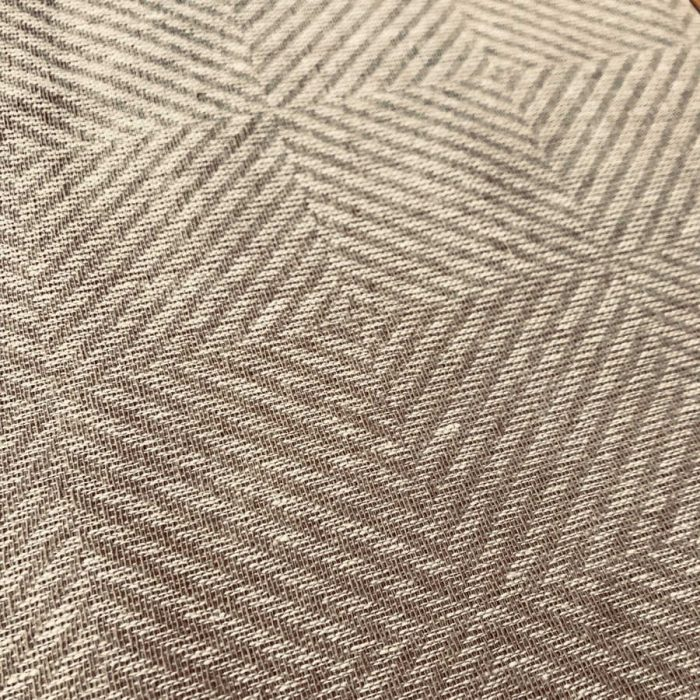 100% Льняная декоративная ткань Бежевая 2