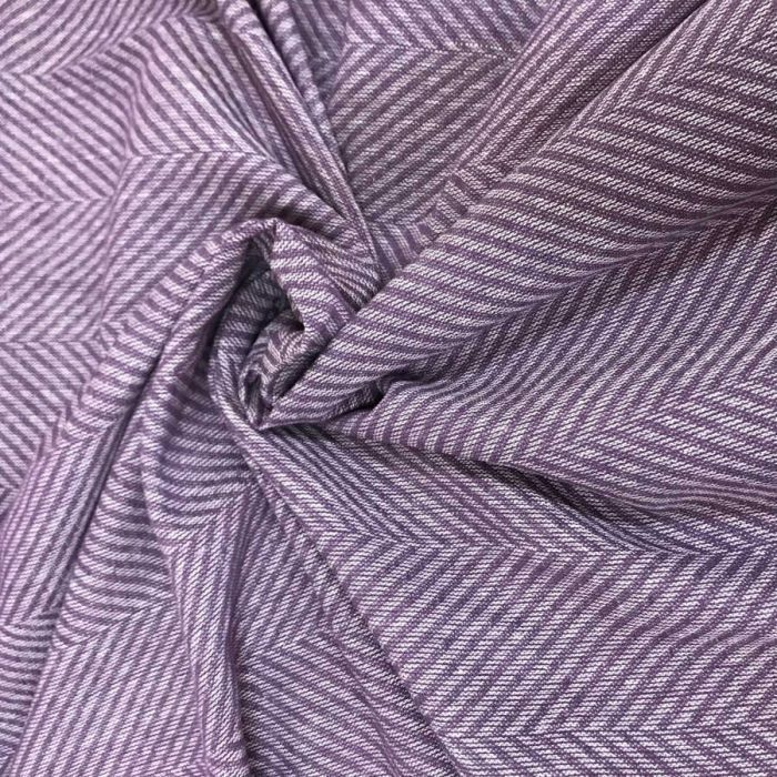 Льняные ткани - 100% Льняная декоративная ткань Розово-Лиловая 1