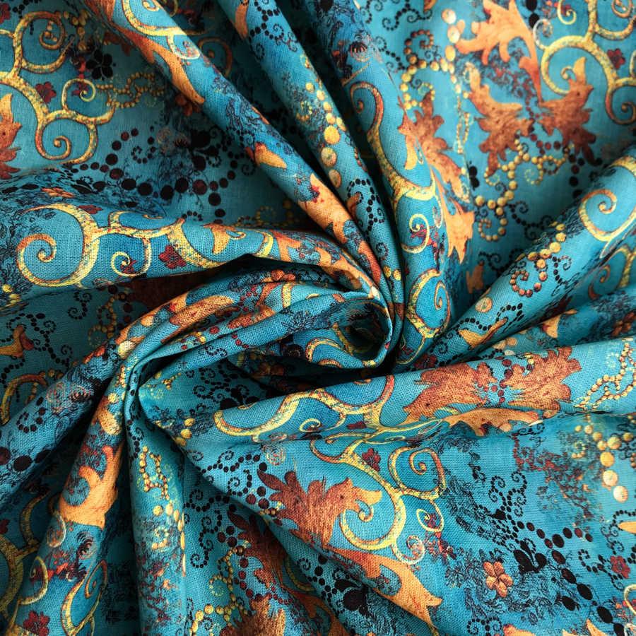 Льняные ткани - Льняная ткань Фэнтази 1