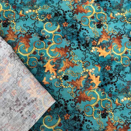 Льняная ткань Фэнтази 3