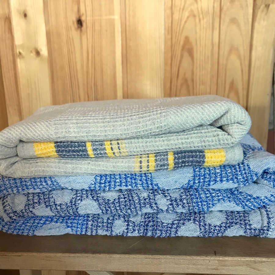 Полотенце банное из умягченного льна 2