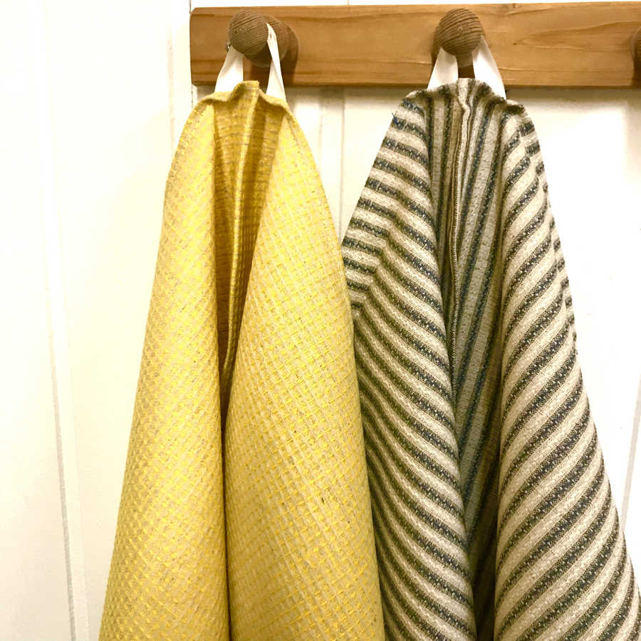 Кухонные полотенца из умягченного льна 2