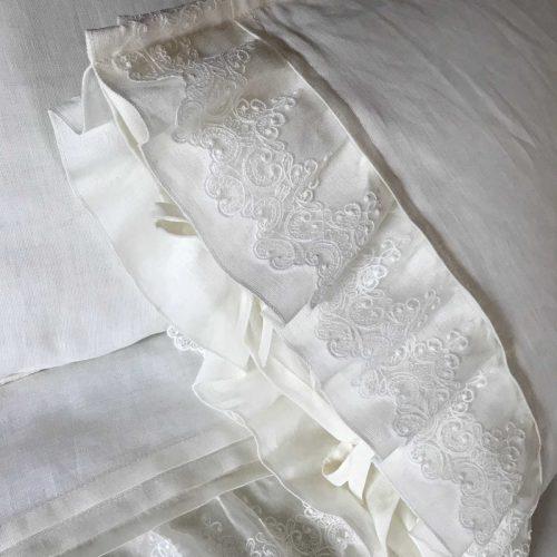 100% Льняной постельный комплект Подарочный 4