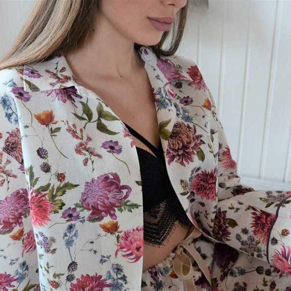 Льняная пижама Мирильда 3