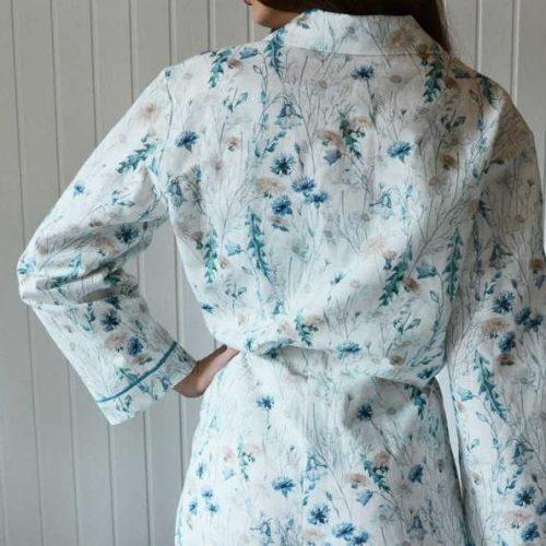 Льняная пижама Луговые Цветы 2