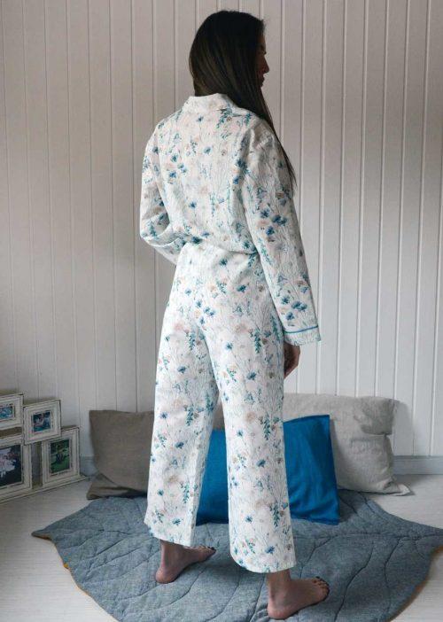 Льняная пижама Луговые Цветы 3