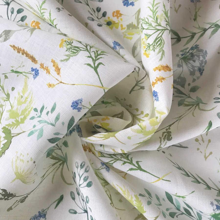 Льняные ткани - Льняная ткань Поляна 2