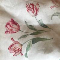 Льняные простыни - Комплект постельного белья из льна Поле Тюльпанов