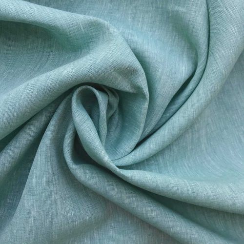 Льняные ткани - ткань Свежая Мята