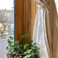 Льняная ткань Латте 4 х 4 - льняные шторы