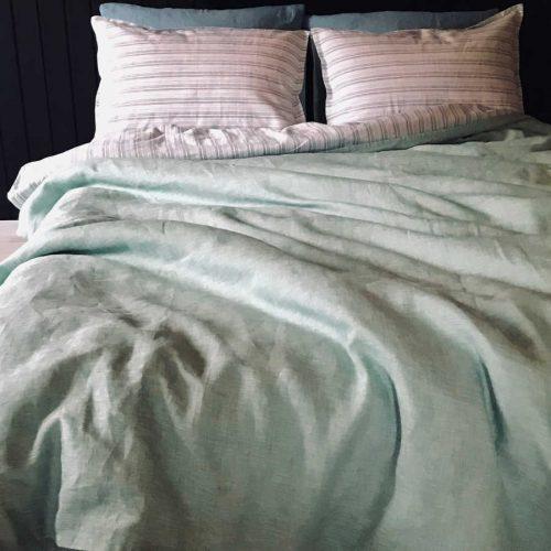 Натуральное постельное белье из льна Свежесть 2