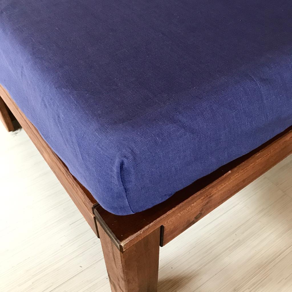 Натяжные простыни на резинке из льна - Льняное