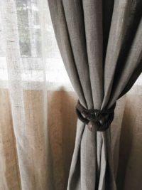 Ткани для штор из льна