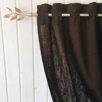 Ткани для штор изо льна
