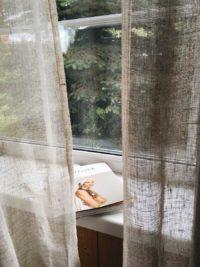 Ткани лен - для тюля и вуали