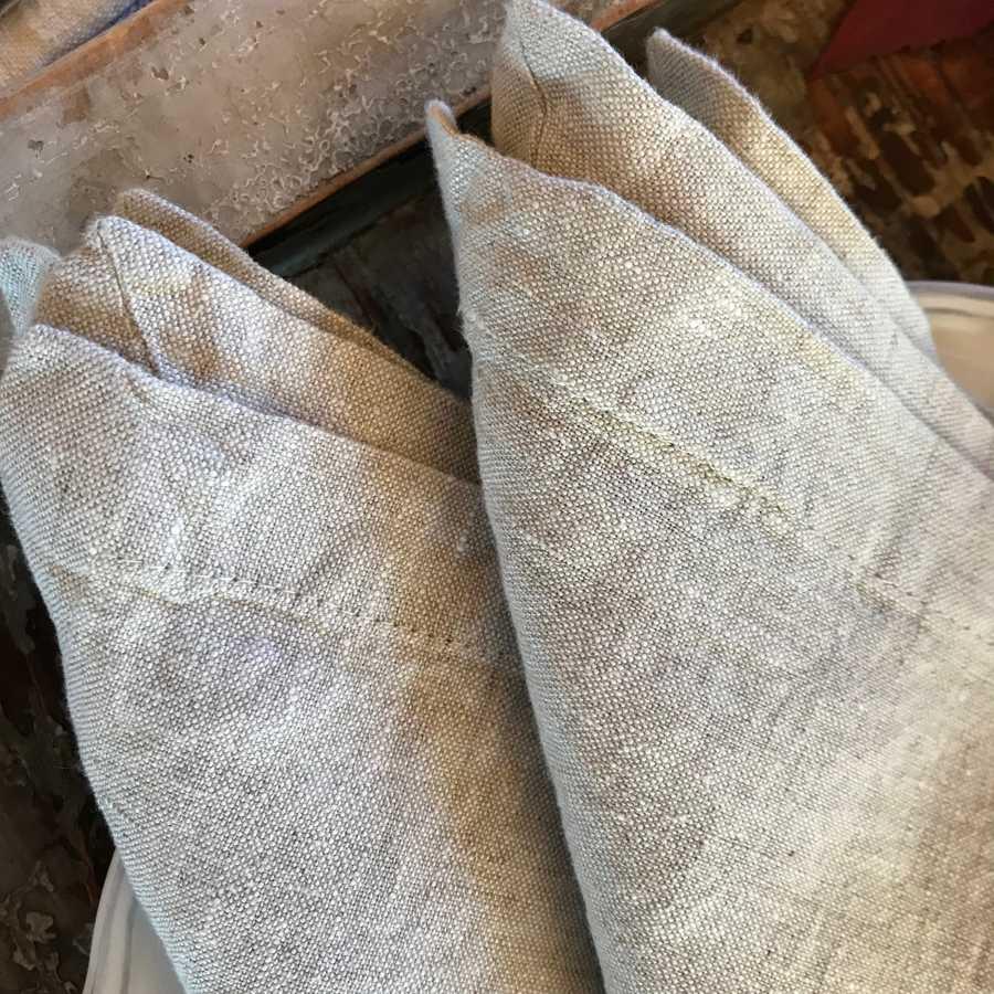 Ткани полулен - салфетки из льна - салфетки из льна