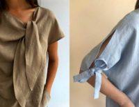 Ткани для одежды льняные - ткань лен 100