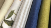 Ткани для одежды - ткани лен-хлопок или полулен