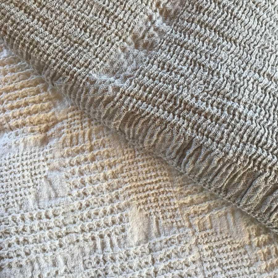 Банное льняное полотенце