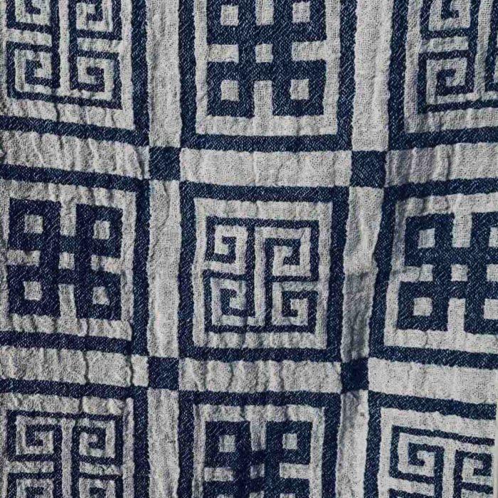 Банное полотенце из льна Греческое