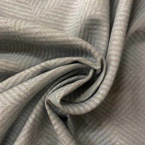 Льняная ткань Серая