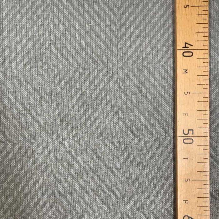Льняная ткань Серый Лен