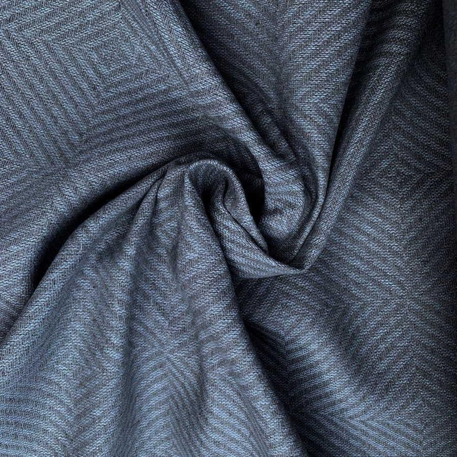 100 % Льняная ткань декоративная - Классический Серый