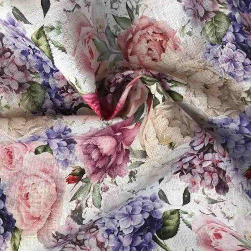 Льняная ткань Есения
