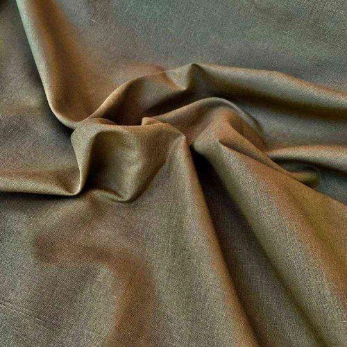 Льняная ткань Табак