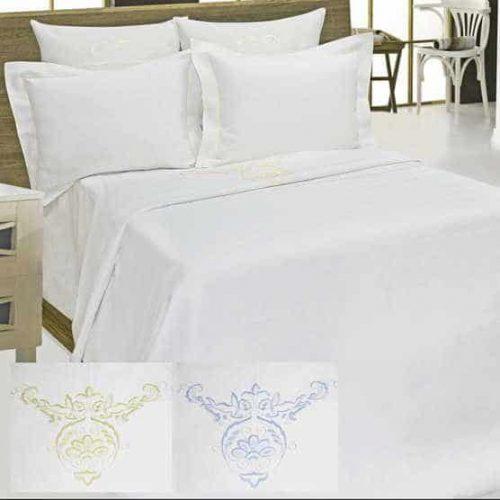 Льняное подарочное постельное белье