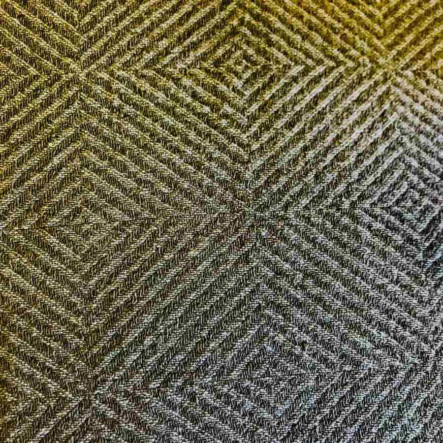 Плед из натурального льна Оливковый