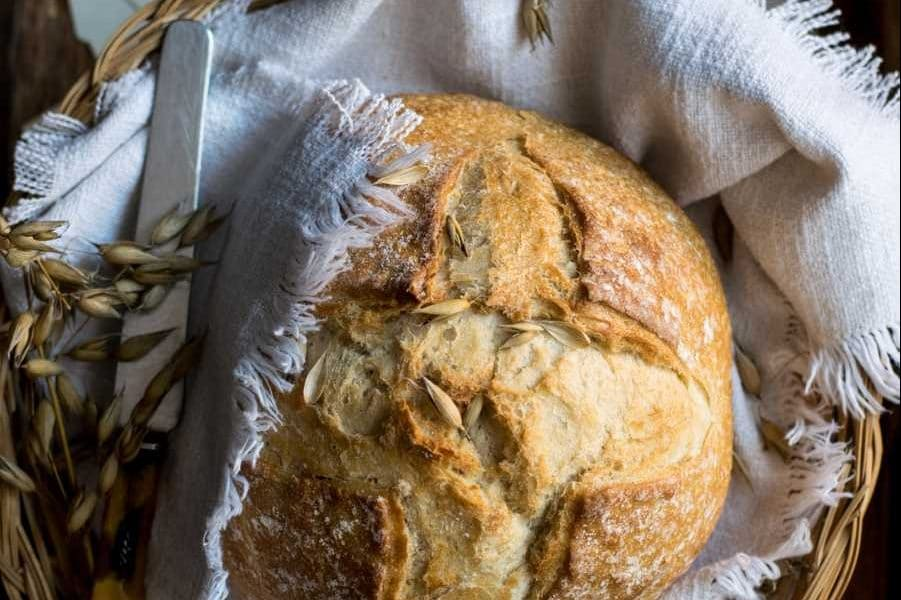 Как хранить хлеб - льняные полотенца