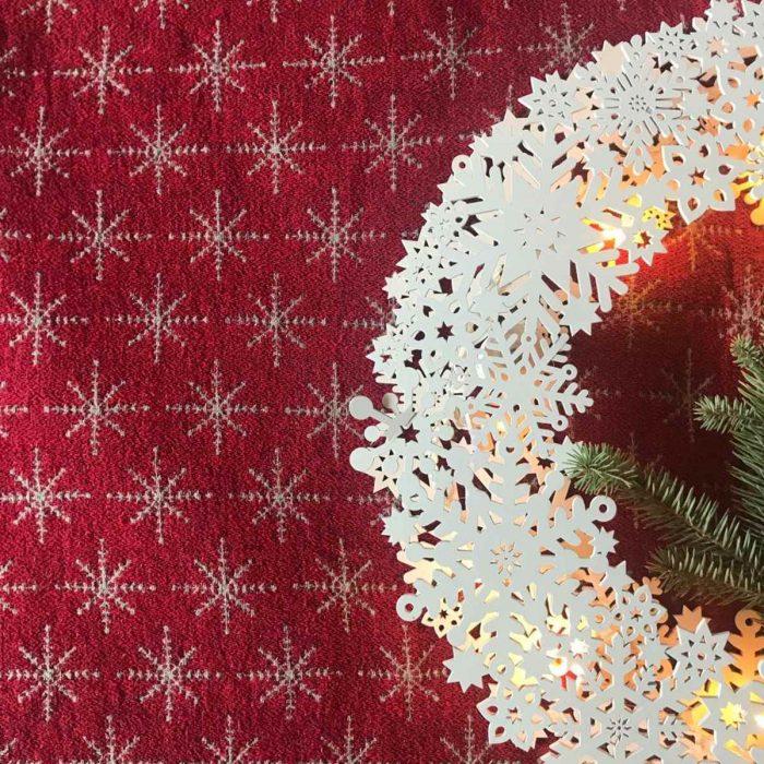 Подарок на Новый год из льна
