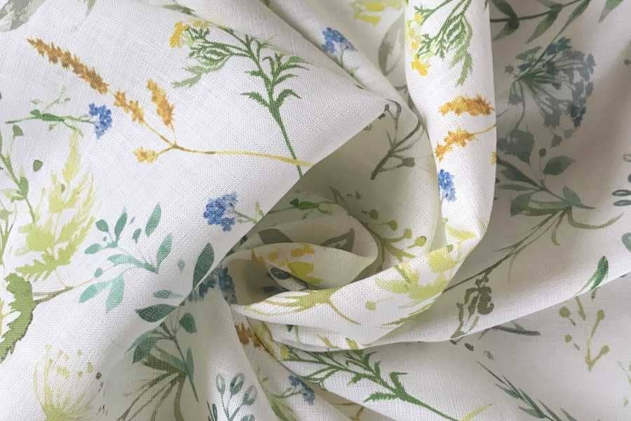 Ткани для детской одежды и белья из льна